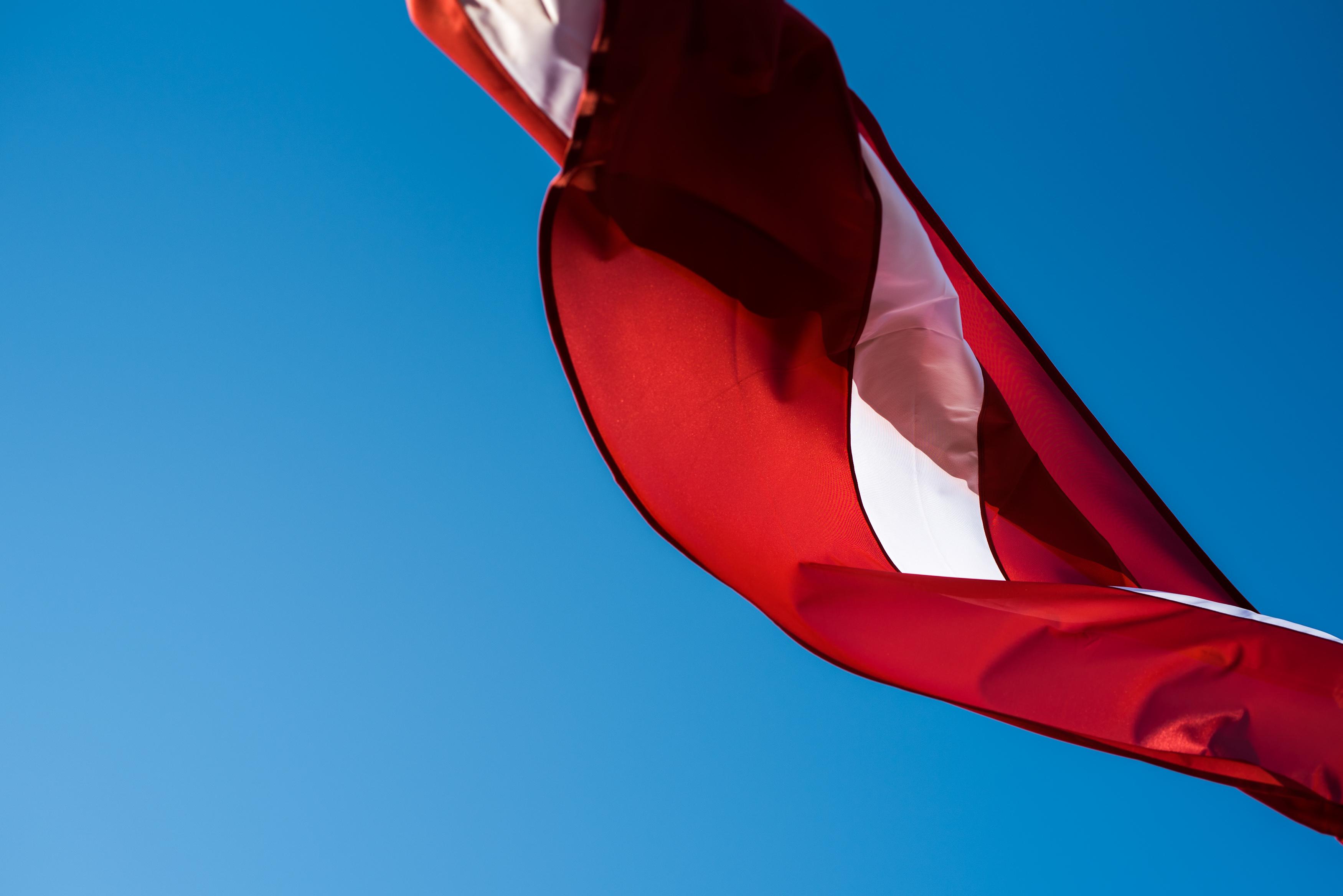 Latvijas karogs