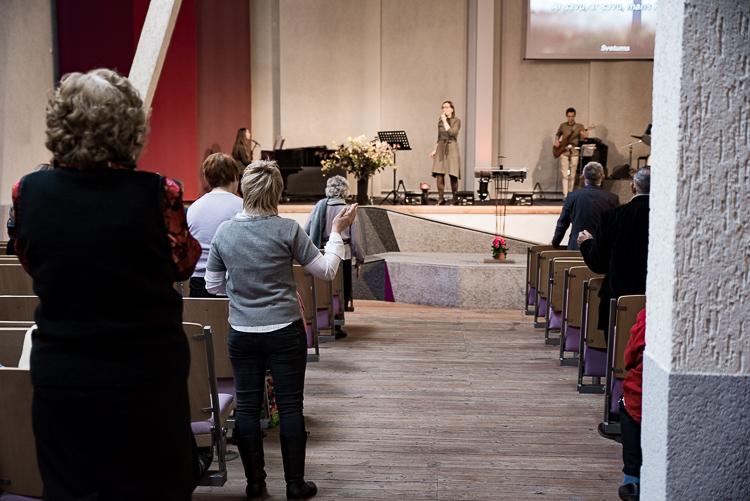 Dievkalpojums_Āgenskalnā